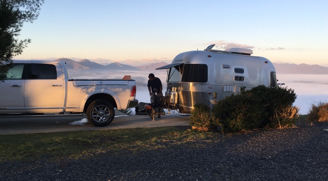 Winter Airstream Trip
