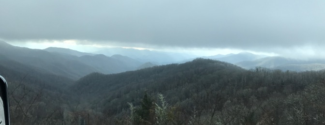 Newfound Gap: The Great Smoky Mountains