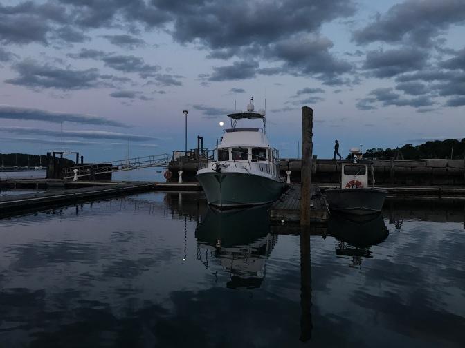 Maine Cruise – Days 10-12 – Belfast & Wooden Boat