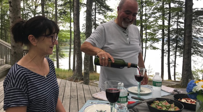 Maine Cruise 2018 – Deer Isle and Our Very Own Personal Chefs