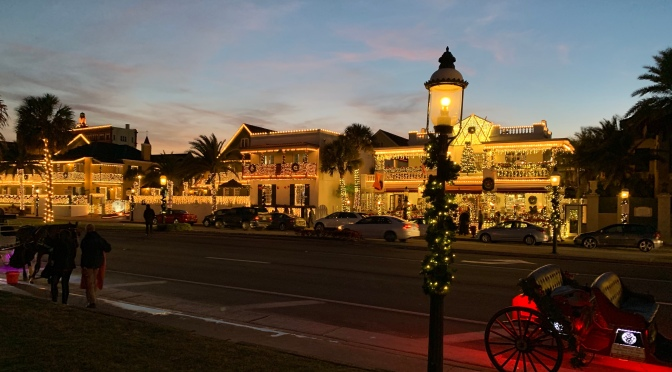 "St. Augustine and ""Nights of Lights"""