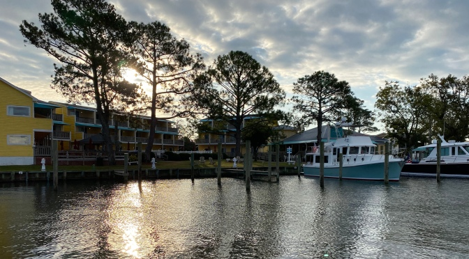 Relaxed Pace in Coastal North Carolina
